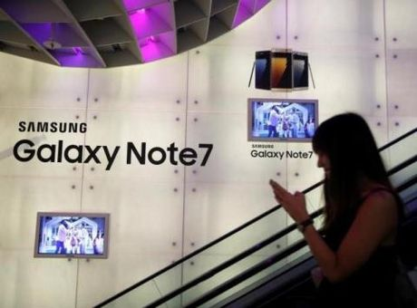 Samsung thu hoi Note 7, Viet Nam ''thiet thoi'': Xuat khau ho? - Anh 1