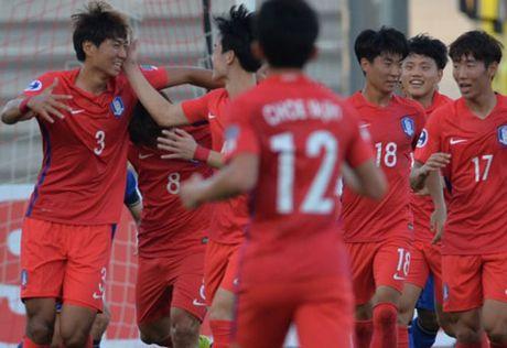 Ket qua, lich thi dau vong bang giai U19 chau A 2016 (ngay 14.10) - Anh 1