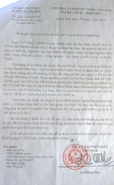 Nguyen chu tich va can bo dia chinh xa an chan 140 trieu tien den bu - Anh 1