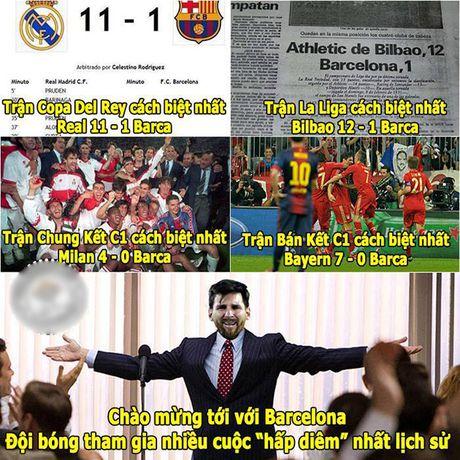 Anh che: Conte 'khoc thet' truoc suc manh cua FC phan thay; Barca tham gia nhieu cuoc 'hap diem' da man nhat lich su - Anh 1