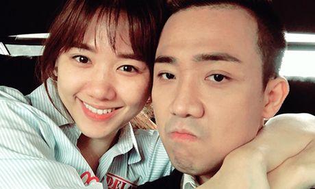 Hari Won tuoi tan ben Tran Thanh sau ca phau thuat - Anh 1