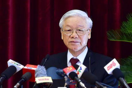 Be mac Hoi nghi lan thu tu Ban Chap hanh Trung uong Dang khoa XII - Anh 1