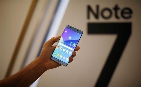 Gan 13.000 chiec Samsung Note 7 se duoc thu hoi tai Viet Nam - Anh 1