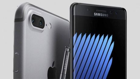 "Apple ""hot bac"" lon nho su co Galaxy Note7? - Anh 1"