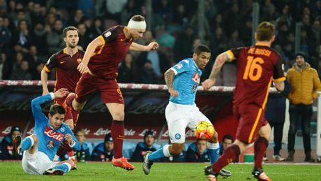 Serie A truoc vong 8: Napoli-Roma dau nhau & hanh dong cua Juve - Anh 1
