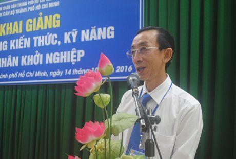 """Khoa hoc """"Boi duong kien thuc va ky nang cho DN khoi nghiep"""" - Anh 1"""