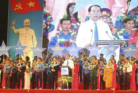 Chu tich nuoc du le ky niem 60 nam Hoi Lien hiep Thanh nien Viet Nam - Anh 2