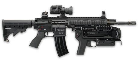 Kham pha sung truong tan cong HK416 moi cua quan doi Phap - Anh 11