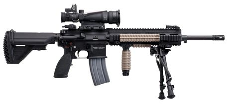 Kham pha sung truong tan cong HK416 moi cua quan doi Phap - Anh 12