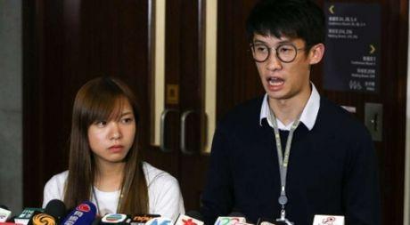 Hai nghi si Hong Kong chong Trung Quoc bi ham doa 'xu ly' - Anh 1