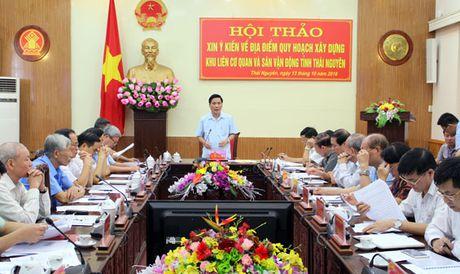 Thai Nguyen can nhac lua chon dia diem Khu lien co quan va san van dong moi - Anh 1