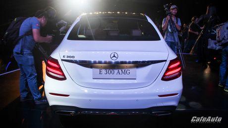Mercedes-Benz E-Class 2017 chinh thuc ra mat thi truong Viet - Anh 10