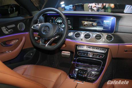 Mercedes-Benz E-Class 2017 chinh thuc ra mat thi truong Viet - Anh 4