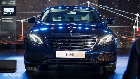 Mercedes-Benz E-Class 2017 chinh thuc ra mat thi truong Viet - Anh 8