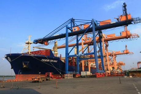 Tau cho hon 1.000 container cua Hong Kong cap Cang Hai Phong - Anh 1