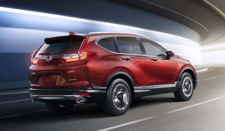 Nhung cai tien cua Honda CR-V the he moi - Anh 1