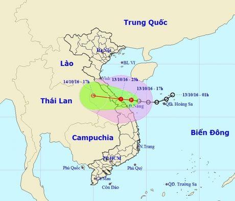 Trung Trung bo se co mua to den rat to, vung nam bien Dong song bien dang cao - Anh 1