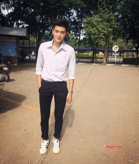 Nu sinh Truong Dai hoc Vinh gay sot voi ngoai hinh 'tom boy' - Anh 2