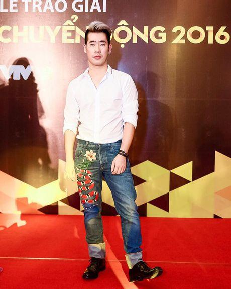 Noo Phuoc Thinh va Ngo Kien Huy cung phat cuong mau quan sang chanh cua Gucci - Anh 1