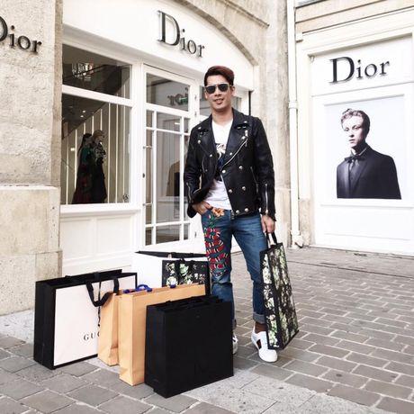 Noo Phuoc Thinh va Ngo Kien Huy cung phat cuong mau quan sang chanh cua Gucci - Anh 2
