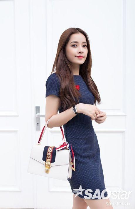 Chi Pu hao hung khoe duoc Jiyeon (T-Ara) chu dong theo doi tai khoan Instagram - Anh 1