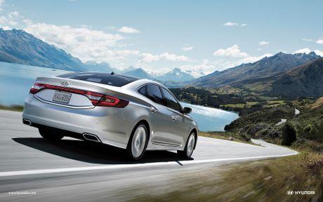 Hyundai Azera, sedan 'xin' hon Sonata co phien ban moi - Anh 3