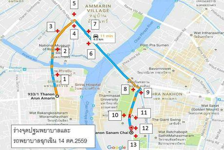 Bien nguoi xep hang dai cho linh cuu quoc vuong Thai Lan - Anh 8