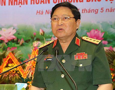 Dai tuong Ngo Xuan Lich gap Bo truong Quoc phong My - Anh 1