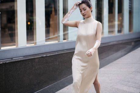 MC Quynh Chi tu tin do sac voi Hoa khoi bong chuyen - Anh 1