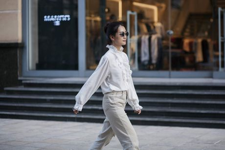 MC Quynh Chi tu tin do sac voi Hoa khoi bong chuyen - Anh 6