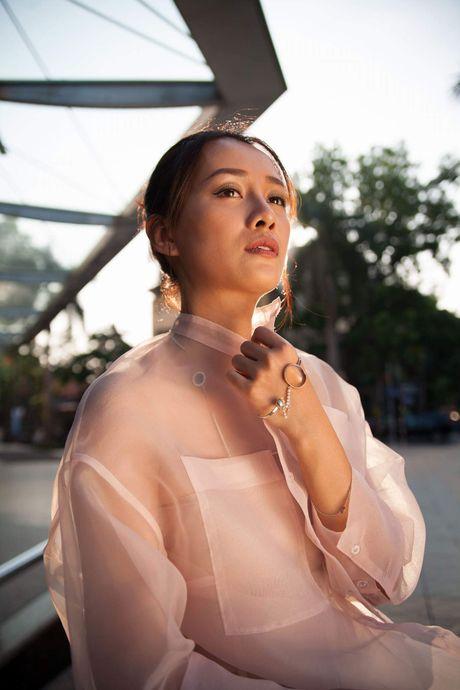 MC Quynh Chi tu tin do sac voi Hoa khoi bong chuyen - Anh 7