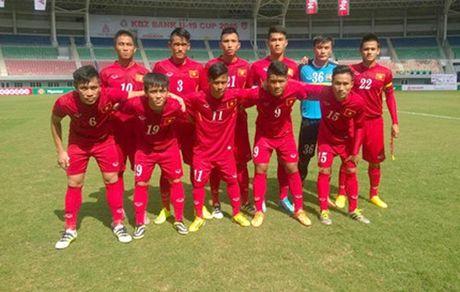 Ket qua tran U19 Viet Nam - U19 Trieu Tien - Anh 1