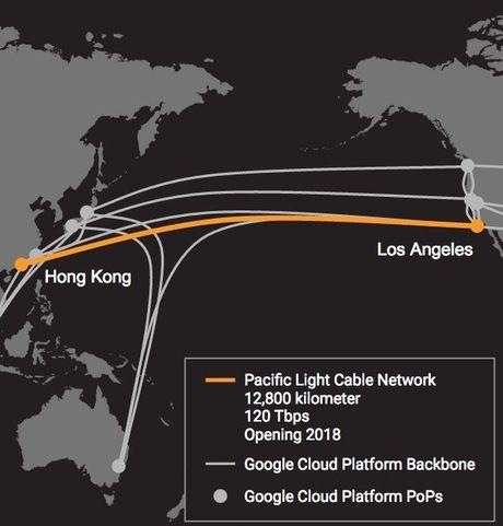 Google bat tay Facebook xay dau tu cap quang bien 12.800 km tu My di chau A - Anh 1