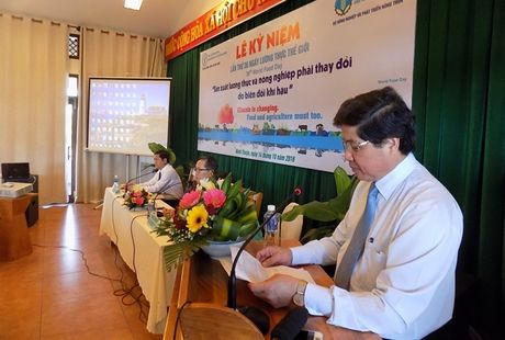 San xuat luong thuc va nong nghiep phai thay doi do bien doi khi hau - Anh 2