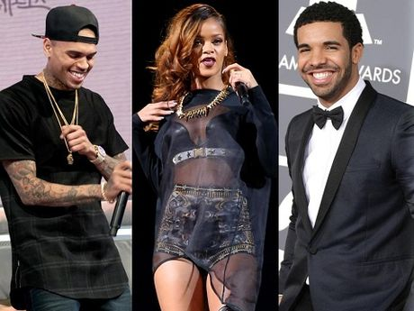 Rihanna quay ve voi tinh cu Chris Brown sau khi chia tay Drake? - Anh 1