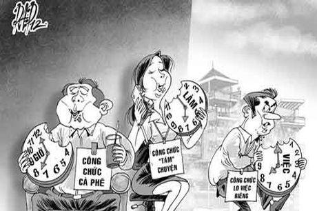 17.000 ty dong cho cong chuc khong lam duoc viec: Giai quyet the nao? - Anh 1