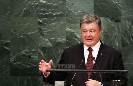 Ukraine tu choi thuc hien thoa thuan Minsk ve giai quyet xung dot - Anh 1