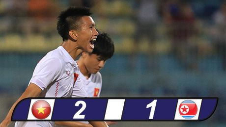 U19 Viet Nam quat nga duong kim A quan giai U19 chau A - Anh 1