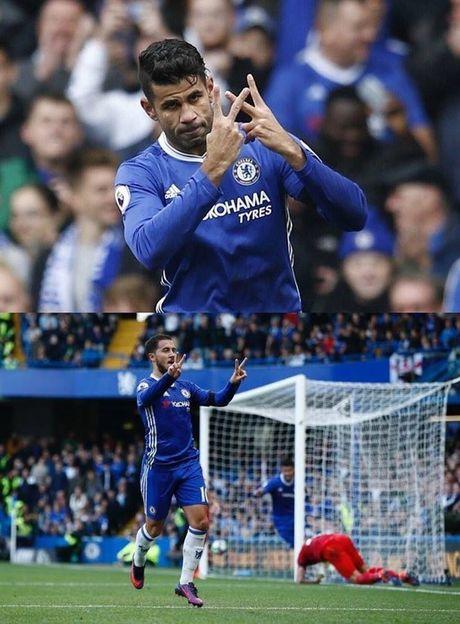 Y nghia dang sau hanh dong an mung cua Costa va Hazard - Anh 1