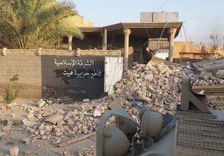 Hinh anh quan doi Iraq tuan tra vung Al-Bakr sau giai phong - Anh 2