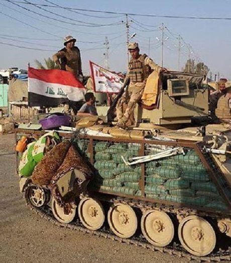 Hinh anh quan doi Iraq tuan tra vung Al-Bakr sau giai phong - Anh 7