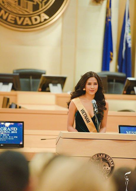 Do sac Nguyen Loan va nguoi dep Venezuela thi Miss Grand International - Anh 10