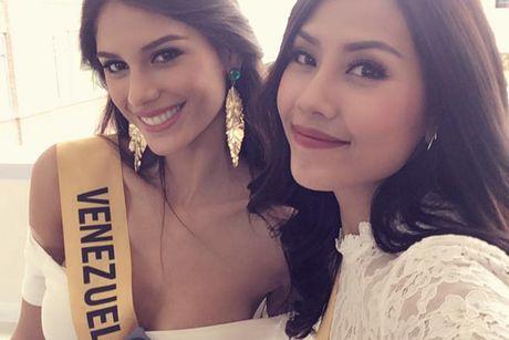 Do sac Nguyen Loan va nguoi dep Venezuela thi Miss Grand International - Anh 1