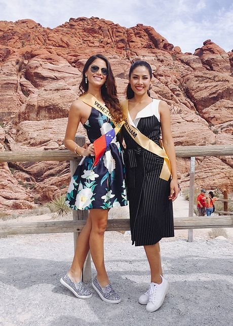 Do sac Nguyen Loan va nguoi dep Venezuela thi Miss Grand International - Anh 2