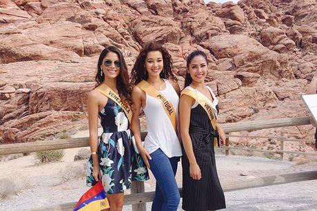 Do sac Nguyen Loan va nguoi dep Venezuela thi Miss Grand International - Anh 3