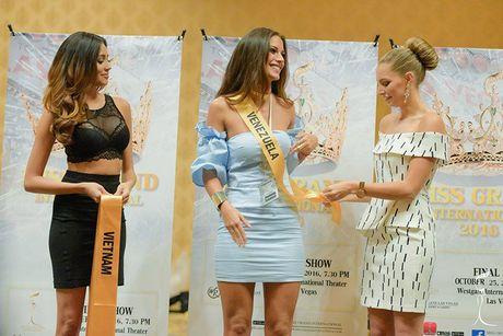 Do sac Nguyen Loan va nguoi dep Venezuela thi Miss Grand International - Anh 8