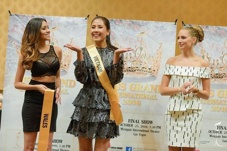 Do sac Nguyen Loan va nguoi dep Venezuela thi Miss Grand International - Anh 9