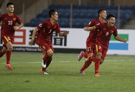Chau A an tuong sao tre U.19 Viet Nam - Anh 2