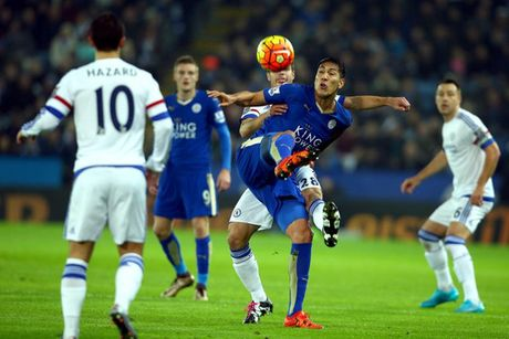 Lich THTT: Dai chien Chelsea - Leicester - Anh 1
