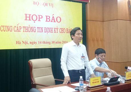 Thu truong Bo Noi vu: 'Con rat it dat cho cong chuc luoi bieng' - Anh 1